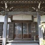 教恩寺本堂。