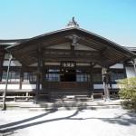 海蔵寺本堂。