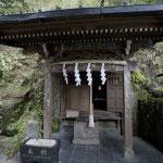 上之水神社。