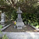 安養院の開基でもある北条政子の墓と伝わる宝篋印塔。