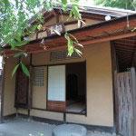 川端康成の『千羽鶴』に描かれた茶室、煙足軒です。