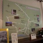 鎌倉にある文学者の筆跡を記した説明板。御成小学校の門札は高浜虚子、小花寿司のマッチは伊集院静など、また見所が増えます。