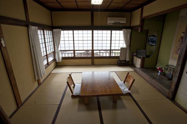 島崎藤村夫人が毎年のように訪れていたという部屋。
