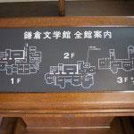 館内は3階建て。1階は主に特別展、2階が常設展示スペース、3階は事務所となっています。