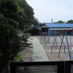光明寺、内藤家の墓にいくには材木座幼稚園を抜けていきます。
