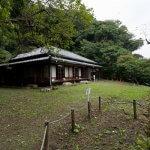 旧川喜多邸別邸(旧和辻邸)。旧川喜多邸敷地の上段にあります。