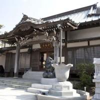 妙典寺本堂。