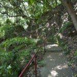観音堂から奥の院までは同じ平場にあり、ここからさらに登ります。