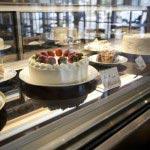 店内で手作りされたケーキ。コーヒーまたは紅茶がついたケーキセットは900円です