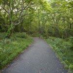 ハイランド口には美しい公園が造られています。