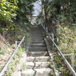 さらに階段を登ります。