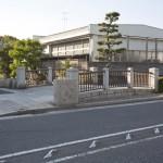 鎌倉十橋のひとつ、琵琶橋。若宮大路沿いにあります。