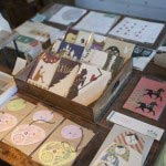 tegamiyaの紙雑貨は一点ずつ手で丁寧にカットした作品です。180円~5,250円