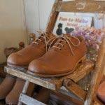 伊東製靴店・伊東正樹による革靴(32,550円)。