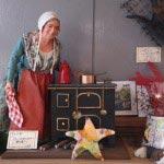 フランスプロヴァンスのサントン人形、料理人、12万円。