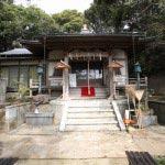 龍口寺七面堂。江戸時代初期に身延七面山の七面大明神を勧請しました。