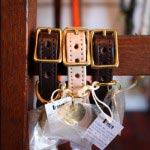 FOUND MY ANIMALのロープ&レザー・カラー、各7,490円、アメリカ製。