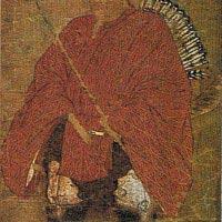 白峰神宮蔵、源為義像