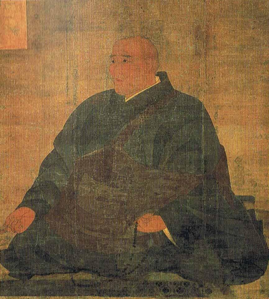 神護寺蔵、文覚上人坐像。