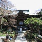 妙法寺本堂。文政年間、肥後細川家が息女の菩提を弔うために建立しました。
