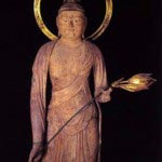満願寺、観世音菩薩像。国の重要文化財です。※写真:満願寺公式HPより。