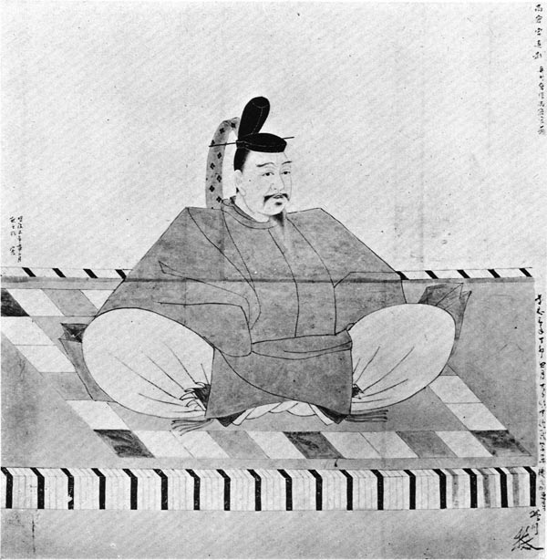『国史大図鑑』の以仁王像。