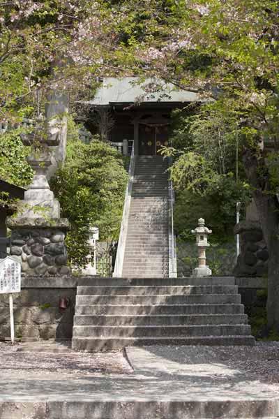 源氏ゆかりの地。甘縄神明神社。源頼朝が鎌倉幕府を開く約400年前から鎌倉を見守る鎌倉最古の寺社。