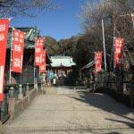 〈頼朝〉源頼朝の愛した三崎めぐり。海南神社。三崎の中心にあります。