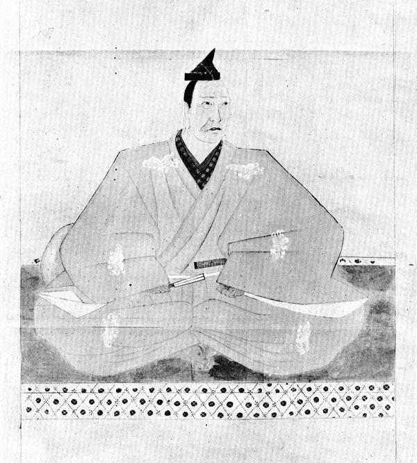 『国史大図鑑』の佐々木高綱像(1932)。