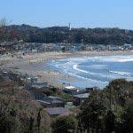 成就院からは鎌倉の海岸が一望できます。