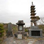 法性寺の山王権現は高い位置にあります。