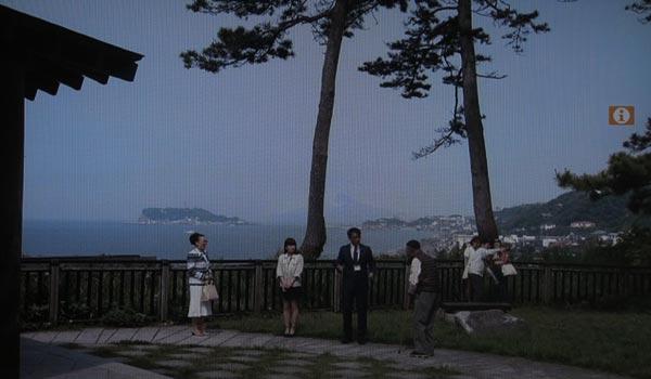 <4>『続・最後から二番目の恋』、中井貴一と柴田理恵(鎌倉市長)が生き抜きする公園