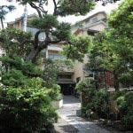 江ノ島表参道の恵比壽屋旅館。慶長年間に創業した老舗旅館です。