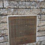 道元禅師顕彰碑。英語版の説明もあります。※本文に全文掲載しました。