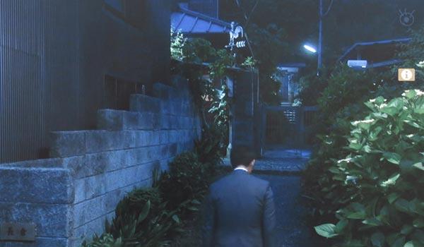 <1>長倉家。御霊神社門前です。