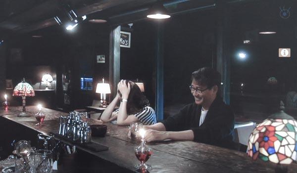中井貴一(長倉和平)と小泉今日子(吉野千明)が飲む店。
