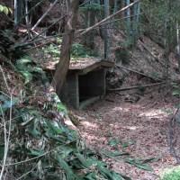 50mほど進むと高祖井戸がみえてきます。