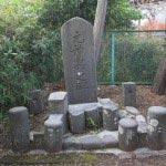 相馬天王(八坂神社)境内、元神興之碑。