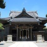 森戸大明神の本殿。現在の建物も400以上の歴史があり、葉山町重要文化財に指定されています。