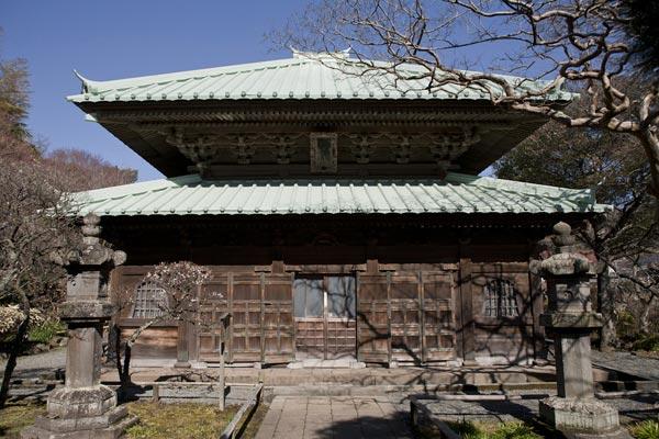 英勝寺、仏殿。
