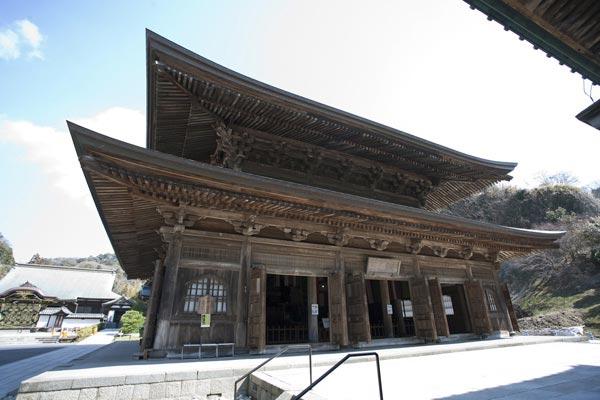 建長寺、法堂。