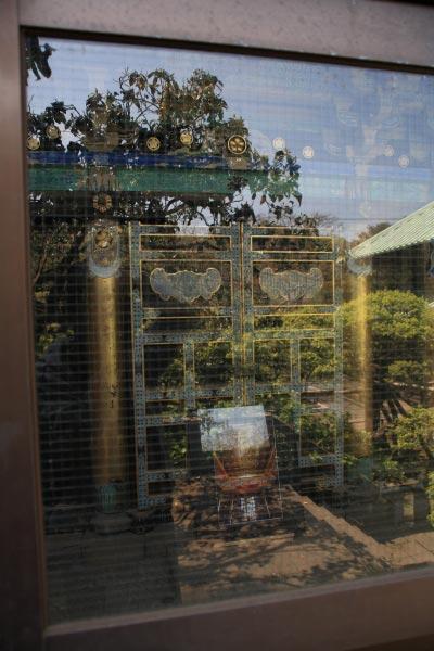 英勝寺、祠堂。