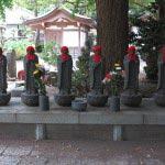 常立寺の六地蔵。
