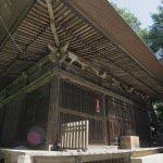 神武寺 薬師堂。1598年(慶長3年)頃のもの。