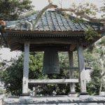 東漸寺境内の梵鐘。