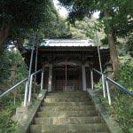 八雲神社本殿がみえてきました。