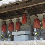 東漸寺の六地蔵。