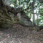 葛原岡・大仏ハイキングコース。北鎌倉から源氏山公園間にある切通し。