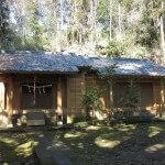 浄明寺の熊野神社。山の中にあり、大変落ち着きます。