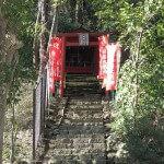 階段を登ると大江稲荷です。